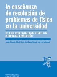 La enseñanza de resolución de problemas de física en la universidad