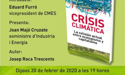 Presentació del llibre: Crisis climàtica
