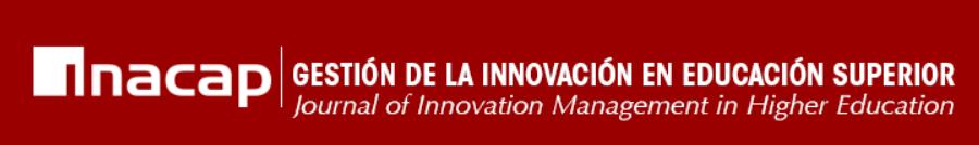 Se abre la convocatoria para el Número 5 de la Revista Gestión a de la Innovación en Educación Superior REGIES