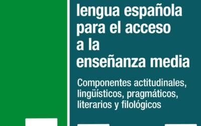 El comentario de textos en lengua española para el acceso a la enseñanza media