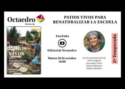 PATIOS VIVOS PARA RENATURALIZAR LA ESCUELA